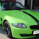 folia-mat-zielony-wylewany-MSC-953-na-bmw-z4-Foliggo