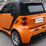 folia pomarańczowa do samochodu grafiwrap